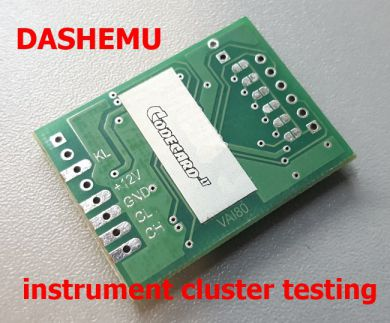 DASHEMU - CAN bus simulator for instrument cluster repair and testing on bench