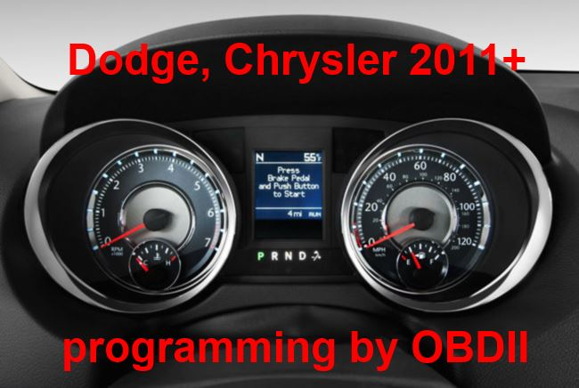 S7.50 - Speedometer repair by OBDII for Chrysler, Dodge, Jeep 2011-2014