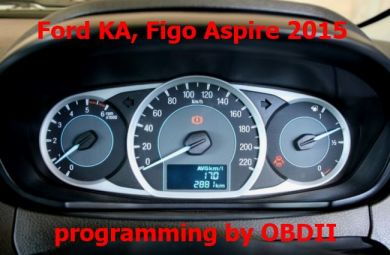 S7.48 - Dashboard programming by OBDII for Ford KA, Figo Aspire