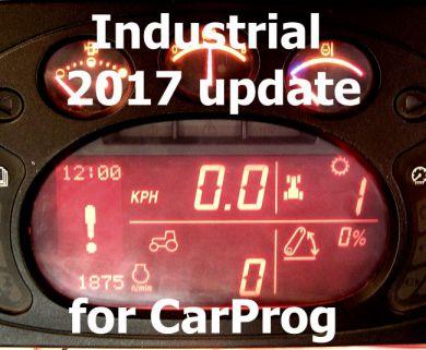S8.3 - 2017 Industrial hourmeter programming software update for CarProg
