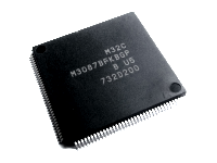 M3087BFKBGP - processor from Lexus 2011 RX450H radio