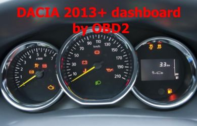 S7.41 - Dashboard repair by OBDII for Dacia 2013+