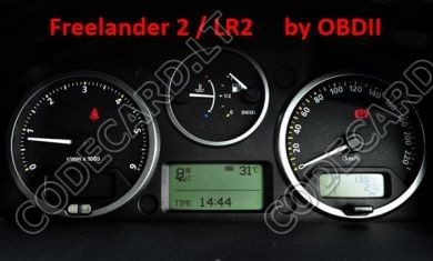 S7.34 - Odometer repair by OBDII for Land Rover Freelander 2 / LR2