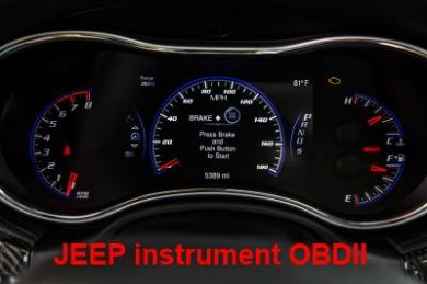 S7.47 - Instrument cluster repair  software for Jeep Cherokee, Grand Cherokee 2014+