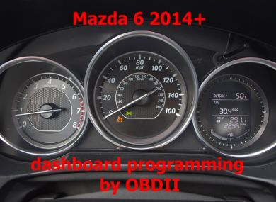 S7.40 - Dashboard repair by OBDII for Mazda 6 2013+