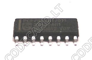 PCF7945  - new , empty transponder chip