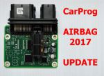 2017 airbag software update using EEPROM/MCU connection