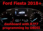 S7.67 - Dash programming by OBDII for Ford Mustang Fiesta MK8, Transit, Edge, EcoSport, Focus 2018+