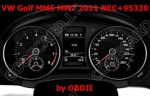 S7.22 - Dashboard repair by OBDII for VW Golf, Beetle, Up! 2011+ MM5, MM7 NEC+95320
